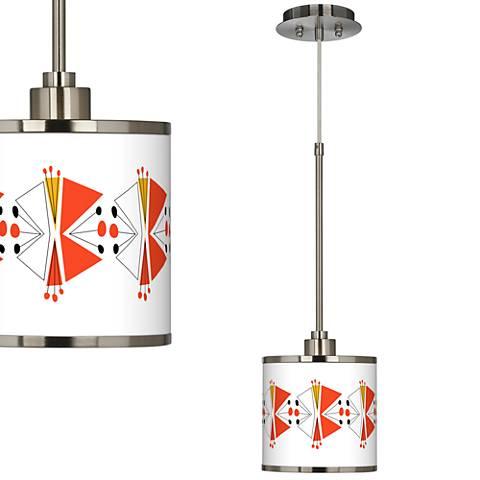 Lexiconic III Giclee Glow Mini Pendant Light