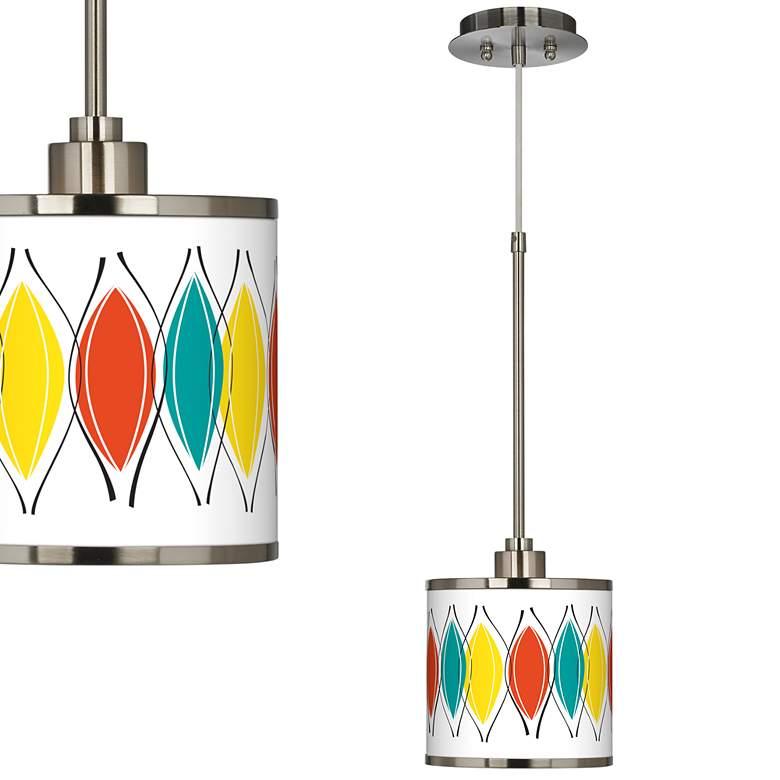 Harmonium Giclee Glow Mini Pendant Light