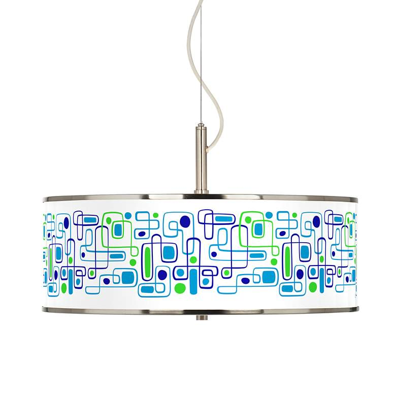 "Racktrack Giclee Glow 20"" Wide Pendant Light"