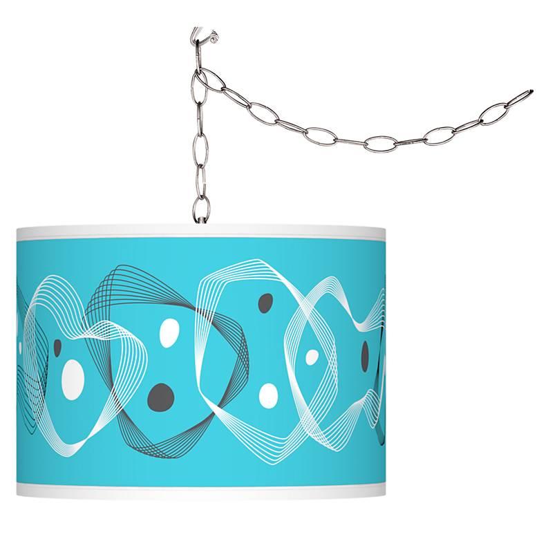 Spirocraft Giclee Glow Plug-In Swag Pendant