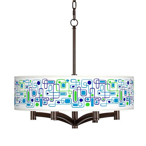 Racktrack Ava 6-Light Bronze Pendant Chandelier