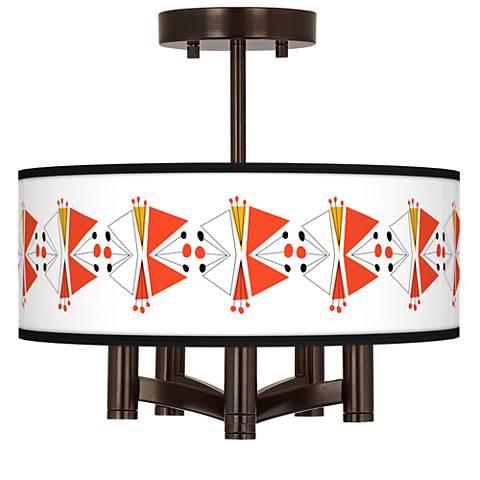 Lexiconic III Ava 5-Light Bronze Ceiling Light