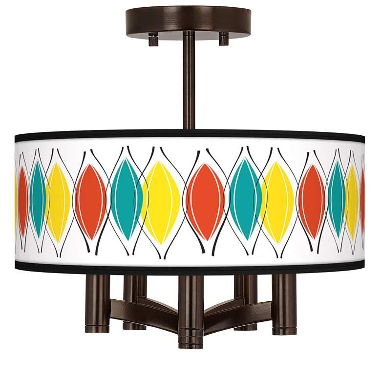 Harmonium Ava 5-Light Bronze Ceiling Light