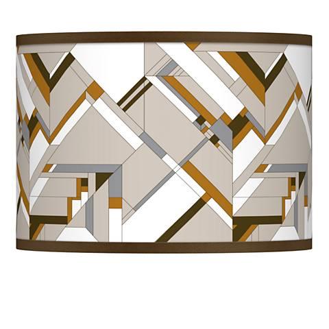 Craftsman Mosaic Giclee Lamp Shade 13.5x13.5x10 (Spider)