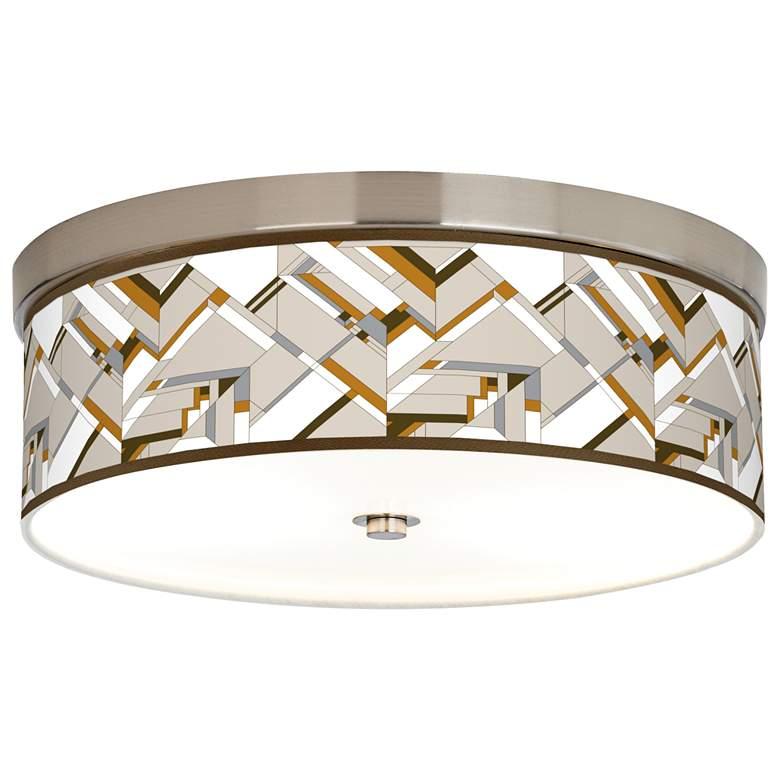 Craftsman Mosaic Giclee Energy Efficient Ceiling Light