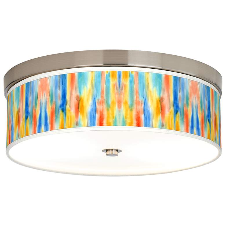 Tricolor Wash Giclee Energy Efficient Ceiling Light