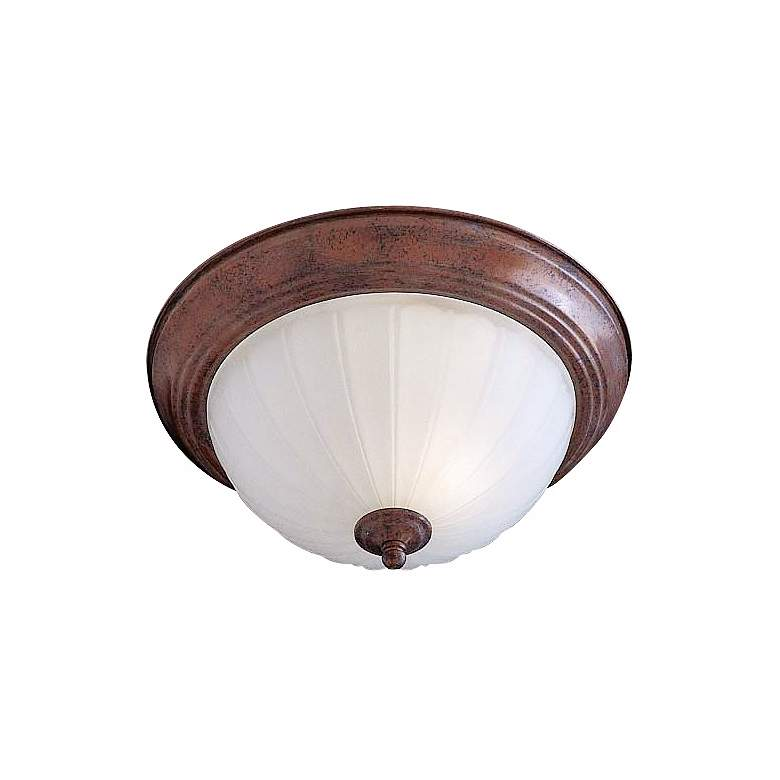 "Melon 11"" Wide Bronze ENERGY STAR® Ceiling Light Fixture"
