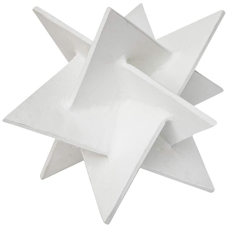 """Regina Andrew Design 9"""" High Aluminum Origami Star Sculpture"""