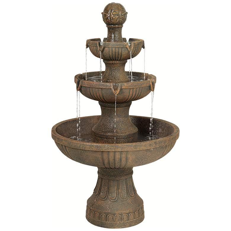 """Ravenna 43"""" High Italian Garden Fountain by John Timberland"""