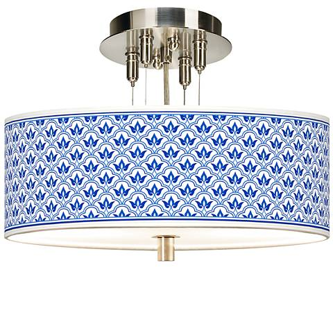 "Arabella Giclee 14"" Wide Ceiling Light"
