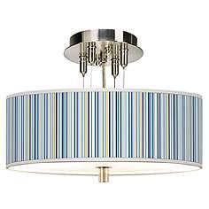 Semi flush mount lights stylish ceiling light designs lamps plus stacy garcia cabana stripe giclee 14 workwithnaturefo