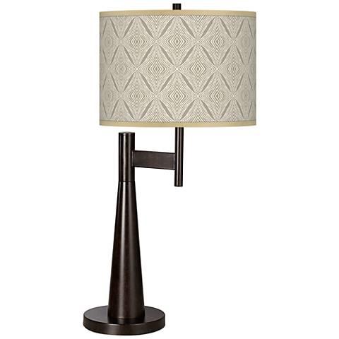 Moroccan Diamonds Giclee Novo Table Lamp