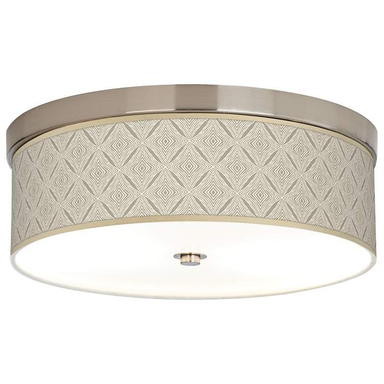 Moroccan Diamonds Giclee Energy Efficient Ceiling Light