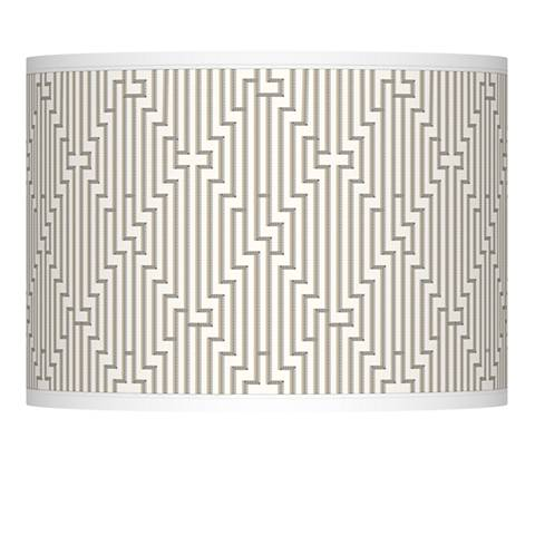 Diamond Maze Giclee Lamp Shade 13.5x13.5x10 (Spider)