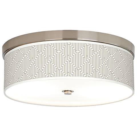 Diamond Maze Giclee Energy Efficient Ceiling Light