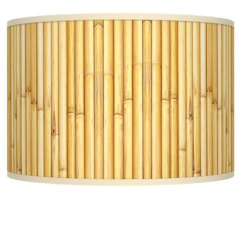 Bamboo Mat Giclee Shade 12x12x8.5 (Spider)
