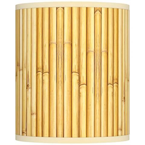 Bamboo Mat Giclee Shade 10x10x12 (Spider)