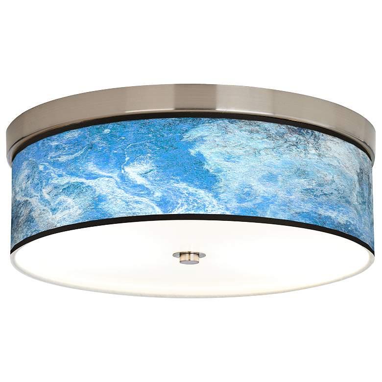 Ultrablue Giclee Energy Efficient Ceiling Light