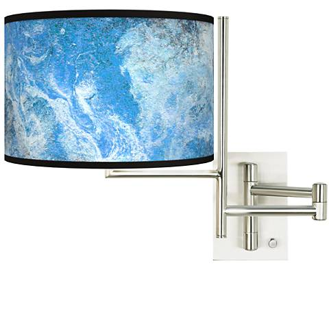 Tempo Ultrablue Plug-in Swing Arm Wall Lamp