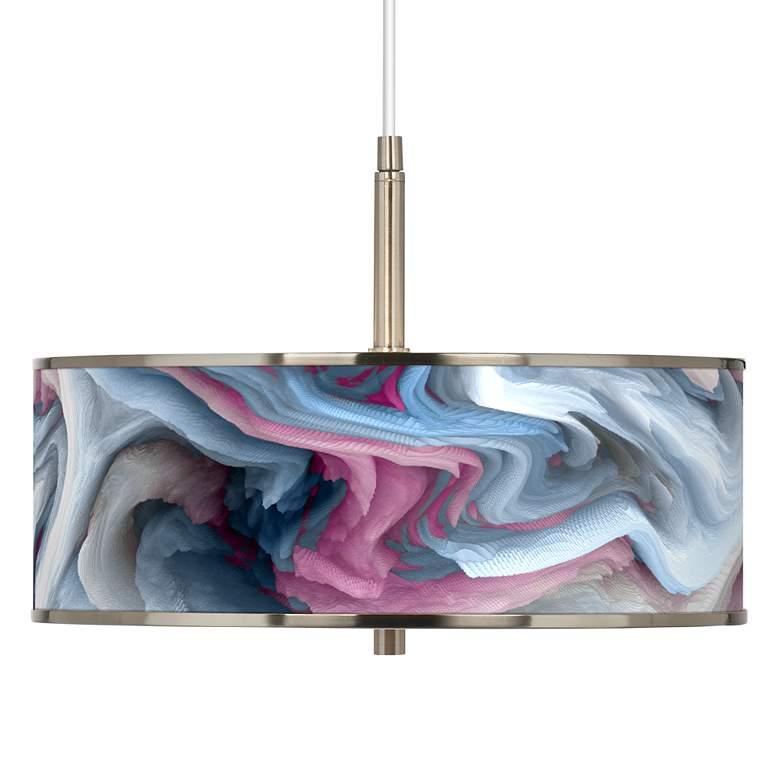 "Europa Giclee Glow 16"" Wide Pendant Light"