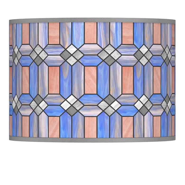 Asscher Tiffany-Style Lamp Shade 13.5x13.5x10 (Spider)