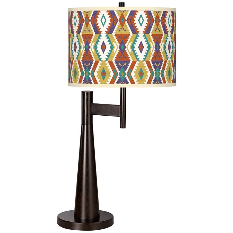 Southwest Giclee Novo Table Lamp