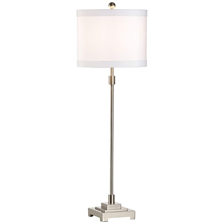 Wildwood Bailey Brushed Nickel Metal Table Lamp