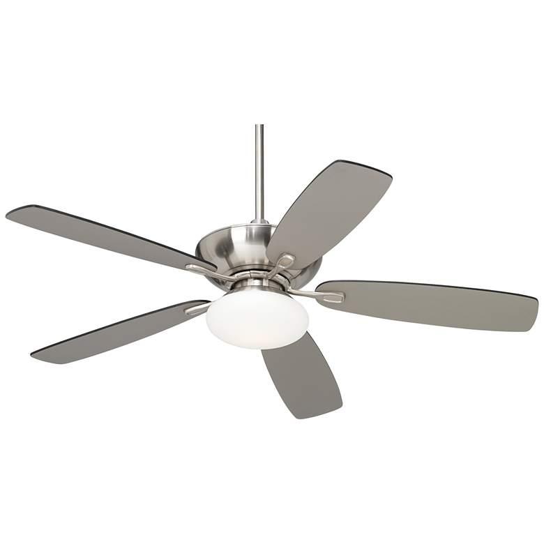 "52"" Casa Vieja® Flex Brushed Nickel Ceiling Fan"