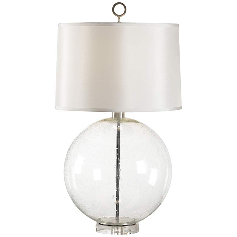 Wildwood Crystal Bubble Glass Sphere Table Lamp