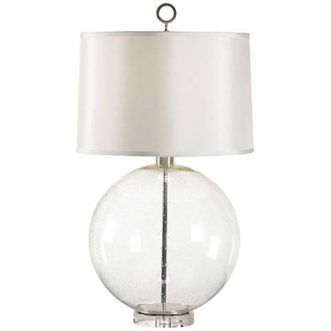Wildwood Bubble Glass Sphere Table Lamp