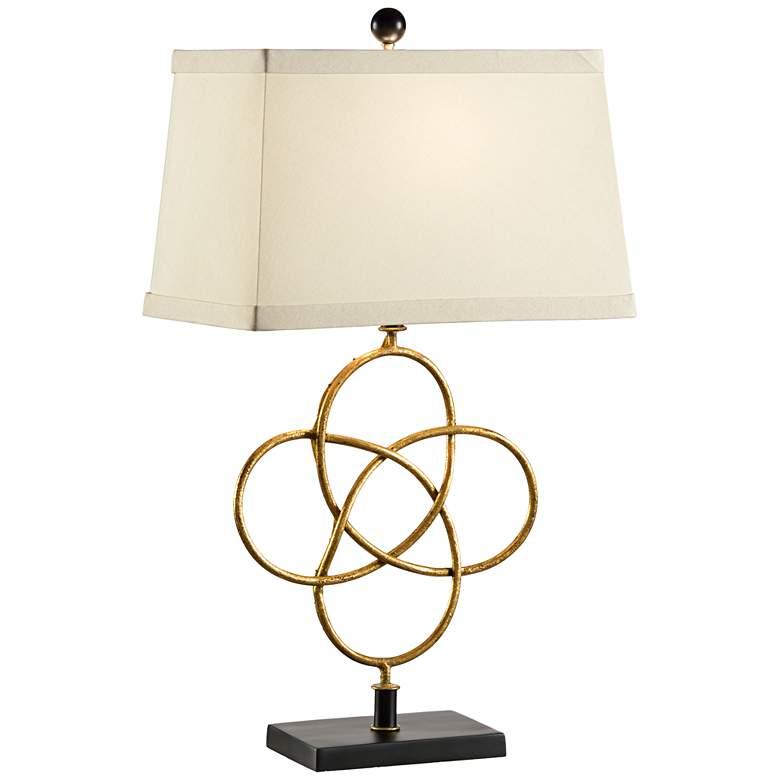 Wildwood Loose Knot Gold Metal Table Lamp