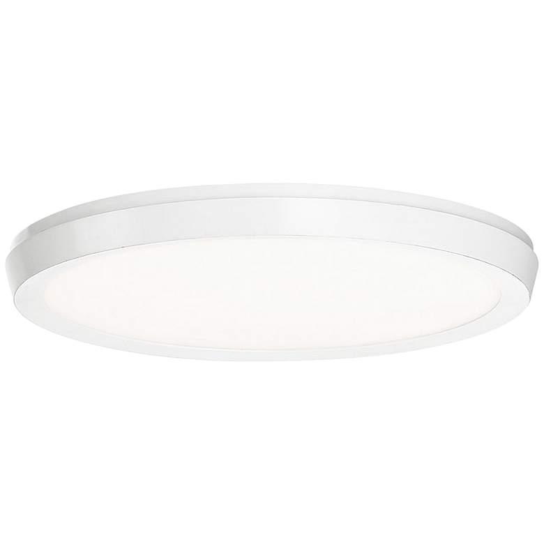"Modern Forms Argo 11"" Wide White LED Ceiling Light"