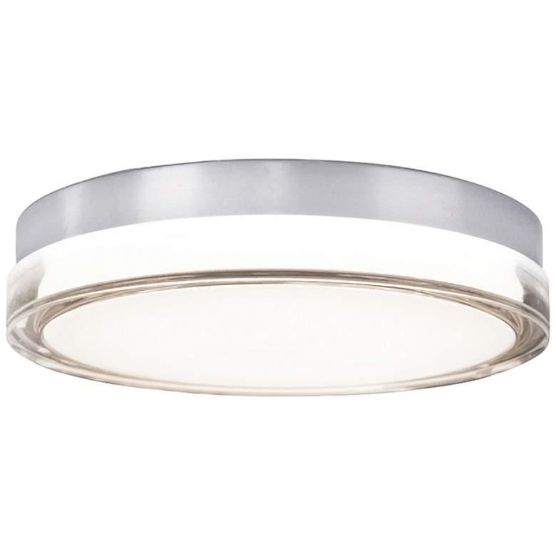 "Modern Forms Pi 9"" Wide Steel LED Outdoor Ceiling Light"