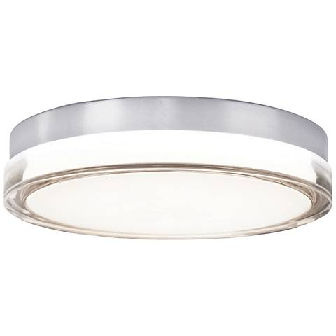 "Modern Forms Pi 9"" Wide Steel LED Outdoor Ceiling Light"
