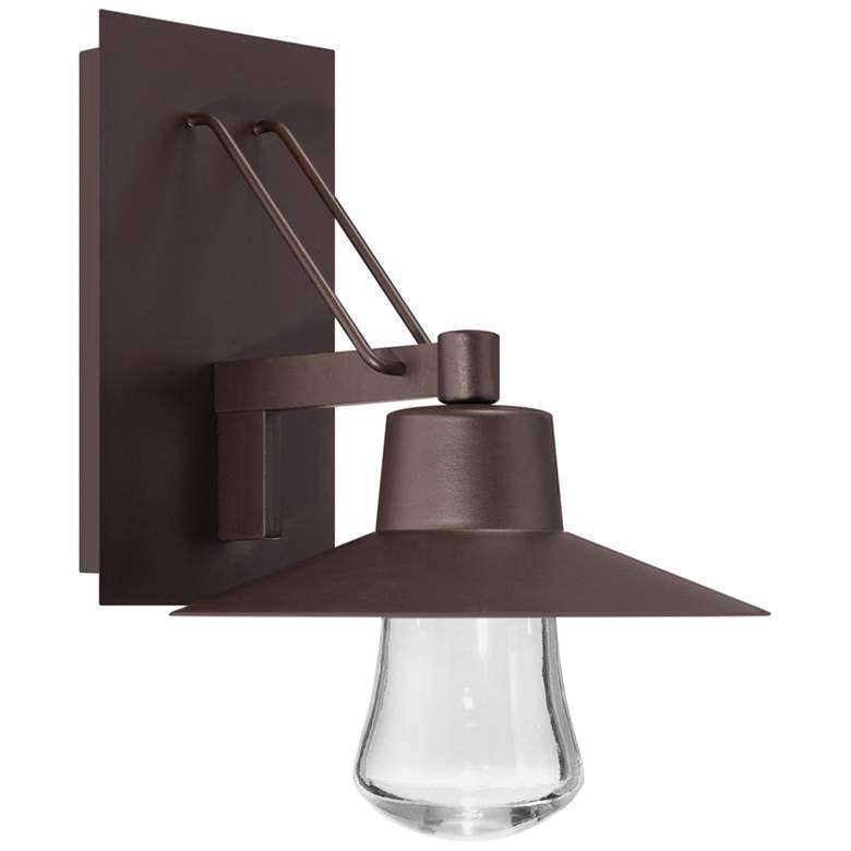 """Modern Forms Suspense 15"""" High Bronze LED Outdoor Wall Light"""