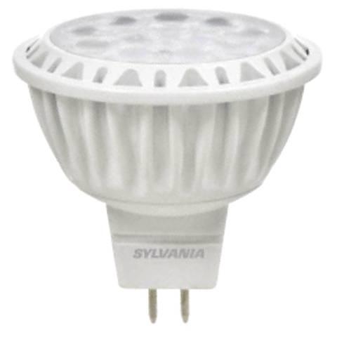 50W Equivalent Sylvania 9 Watt LED Dimmable Bi-Pin MR16 Bu