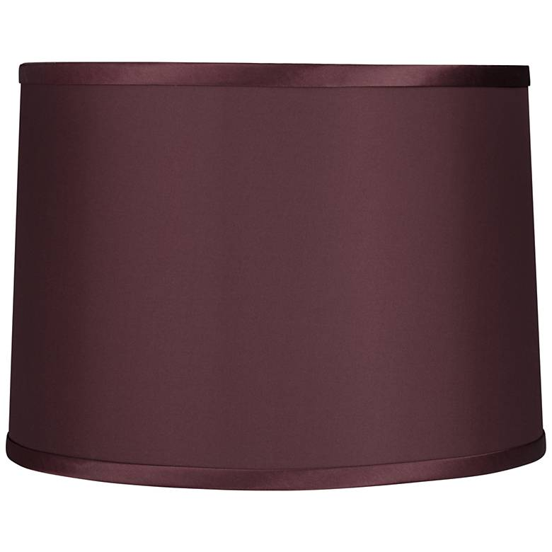 Burgundy Reverse Side Lamp Shade 13x14x10 (Spider)