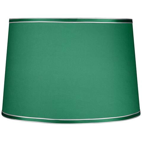 Emerald Green Hardback Lamp Shade 14x16x11 (Spider)
