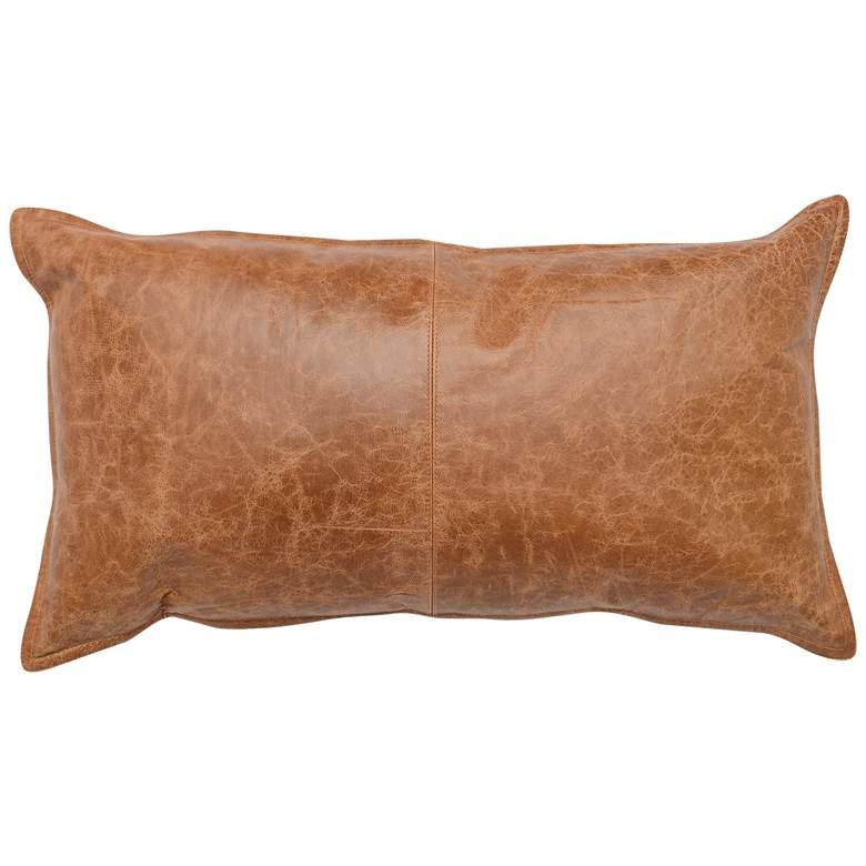"""Southwest Leather 26"""" x 14"""" Throw Pillow"""