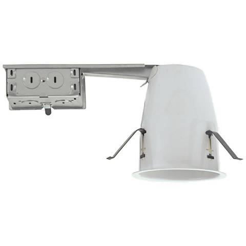 "Nicor 4"" Neutral IC Ideal Airtight Remodel LED Housing"