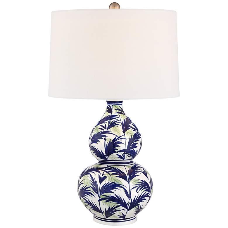 Tahiti Ceramic Double Gourd Table Lamp