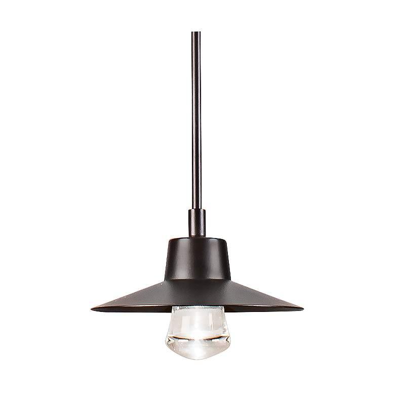 "Modern Forms Suspense 10"" Wide Bronze LED Mini Pendant"