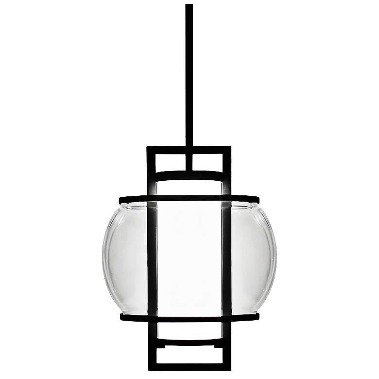 "Modern Forms Lucid 11"" Wide Black LED Mini Pendant"