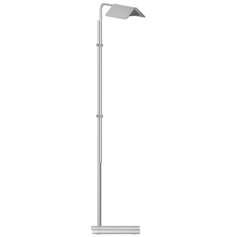 Sonneman Morii Satin Aluminum Adjustable LED Floor Lamp