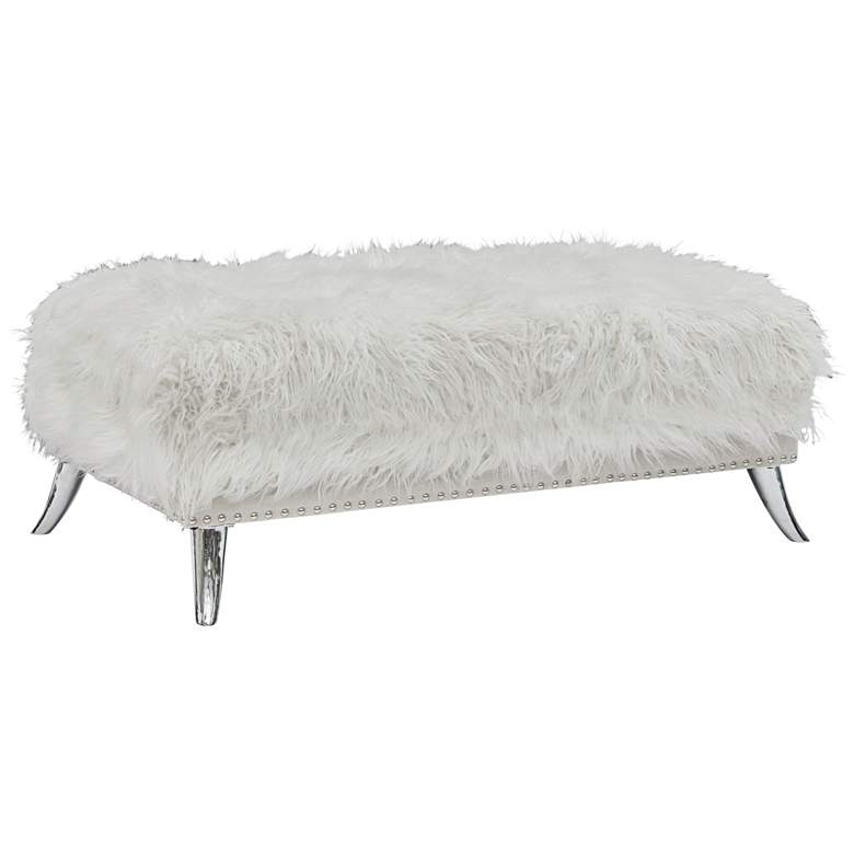 Outstanding Clarissa White Sheepskin Storage Ottoman Forskolin Free Trial Chair Design Images Forskolin Free Trialorg