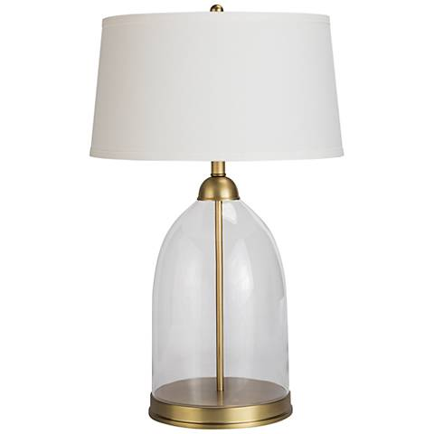 Regina Andrew Design Glass Dome Natural Brass Table Lamp