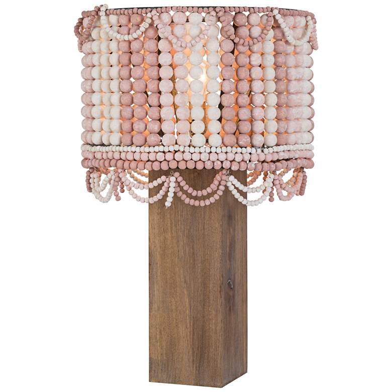 Regina Andrew Malibu Weathered Pink Table Lamp