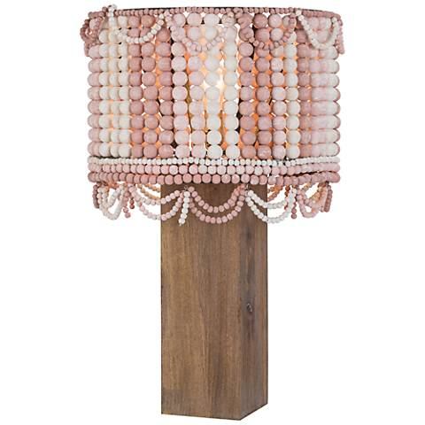 Regina Andrew Design Malibu Weathered Pink Table Lamp