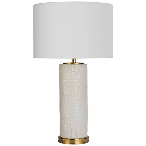 Regina Andrew Design Blake White Ceramic Table Lamp