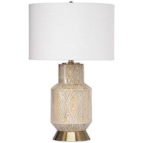 Regina Andrew Design Kendall Coral Ceramic Table Lamp